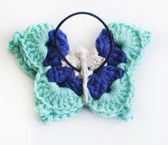gomita mariposa gama de azules 2 - de las bolivianas — de las bolivianas