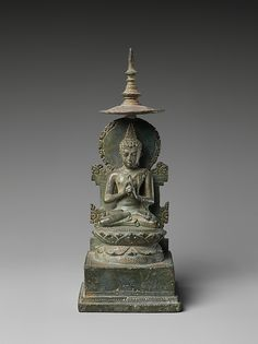 Seated Vairochana, the Transcendent Buddha of the Center
