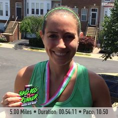 Bad Ass Runner Virtual 5 Mile Race Recap #runchat