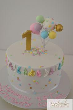 First birthday cake sydney cakes celebration cakes  Baby cakes  birthday cakes  www.spectacularcakes.net