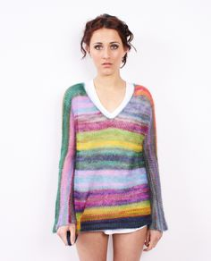 nikki gabriel: Mohair Silk Colours