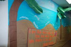 palm trees for beach theme - I like the 3-D look