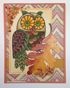 #cre8time for fall ideas! (th)INK Positive: #Stampendous and #Authentique Hop
