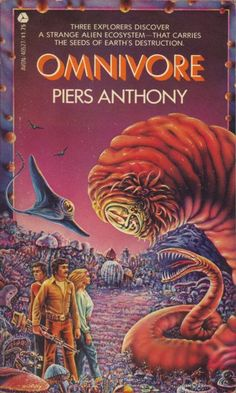 RON WALOTSKY - Omnivore by Piers Anthony - 1978 Avon Books