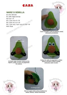 Monica Benedetti Yoshi, Knitting, Crochet, Character, Black Felt, Magic Ring, Free Pattern, Crocheting, Amigurumi