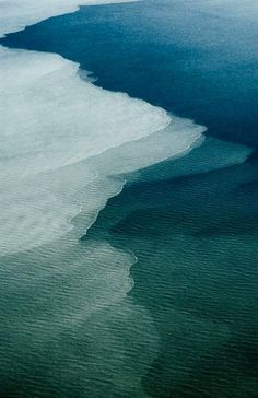 Creative Nature, Water, Colors, Ocean, and Photography image ideas & inspiration on Designspiration No Wave, Beautiful World, Beautiful Places, Beautiful Ocean, All Nature, Nature View, Green Nature, Am Meer, Aerial Photography