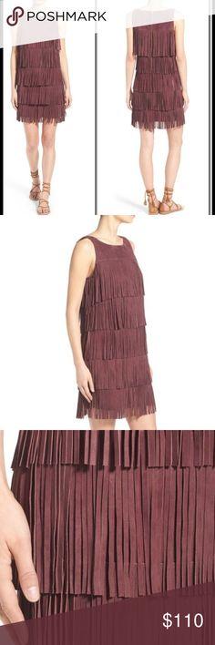 Spotted while shopping on Poshmark: OLIVIA PALERMO-CHELSEA28 Suede Fringe Mini! #poshmark #fashion #shopping #style #Olivia Palermo &Chelsea 28 #Dresses & Skirts
