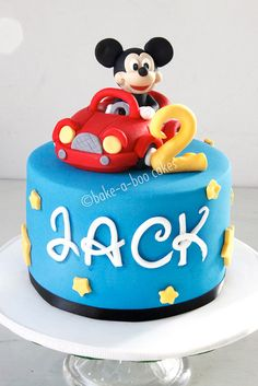 Mickey Mouse cake, via Flickr.