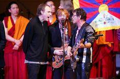 Ray Davies, Lou Reed & Trey Anastasio