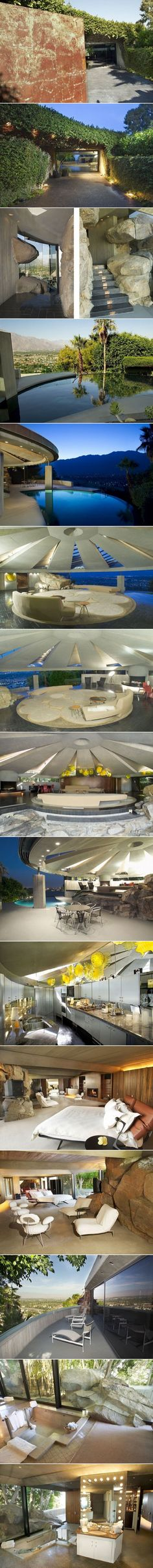 The Elrod House by John Lautner-1968
