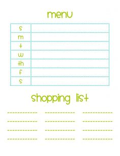 Trendy Printable Meal Planner  Diy Home Improvement And Craft