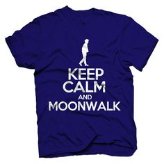 Michael Jackson King of Pop Inspired Men's Keep Calm T-shirt on Etsy, $18.00