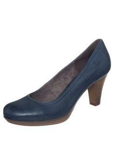 bestil Tamaris Plateaupumps - blå til kr 449,00 (07-01-15). Køb hos Zalando og få gratis levering.