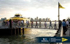 Hop on and off the New York Water Taxi as often as you like throughout the day.
