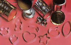 Did you know you can make your own cookie cutters from steel cans, needle-nosed pliers and a pair of tin snips? Recycle and customize your holiday cookies in one fell swoop! From MOTHER EARTH NEWS magazine.