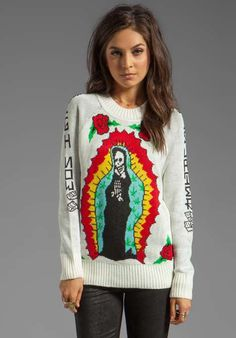 Love the Unif High Now Sweater on Wantering.
