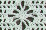 Crochet Stitch Samples-diamond, slip, spider and snapdragon stitch's with directions on how to make each stitch.