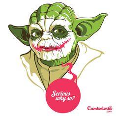 Camiseta 'Serious why so?' - Catalogo Camiseteria.com