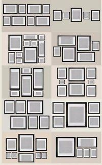 Gallery Wall Design easy diy tutorial – gallery wall with ikea ribba frames | gallery