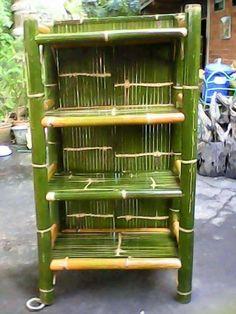 Bamboo furniture - open selves Bamboo Shelf, Bamboo Lamp, Bamboo Tree, Bamboo Furniture, Home Decor Furniture, Cheap Furniture, Furniture Online, Discount Furniture, Furniture Websites
