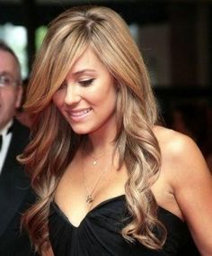 Hairstyles for Long Hair ! Love LC's hair here such a nice color