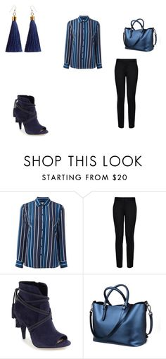 """""""blue"""" by ikatsamaki on Polyvore featuring Equipment, STELLA McCARTNEY and Vince Camuto"""