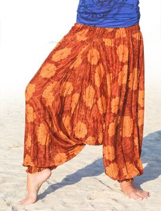 Women's Thai Harem Pants by ThaiCraftShop on Etsy, $25.00