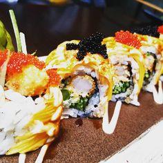 Mango Dragon Roll