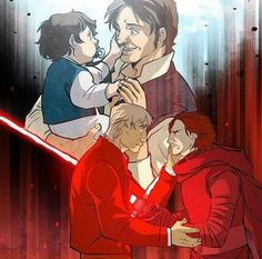 Ben Solo kills Han