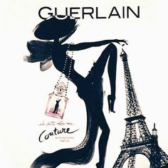 Guerlain  Affirm the Glamour of Chypre with La Petite Robe Noire Couture (2014) {New Perfume}