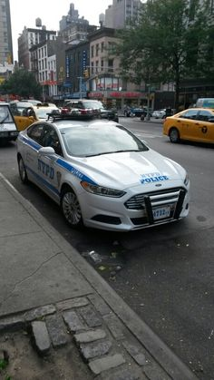 NYPD # 4732 Ford Fusion