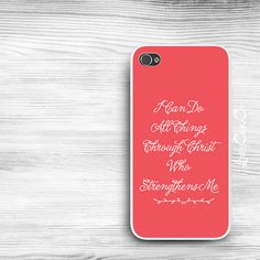 Bible Verse iPhone 5s Case / iPhone 4s Case / Galaxy S4 Case / Galaxy S3 Case/ iPad Case / Galaxy Note Case / Note 2 Case on Etsy, $18.00