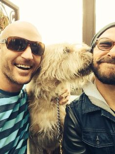 Ben Barrington and Jared Turner of the Almighty Johnsons. My two favorites, Olaf and Ty. Jared Turner, Aiden Turner, Love Movie, Movie Tv, The Almighty Johnsons, Dean O'gorman, Sci Fi Comedy, Cute Nerd, Dog Best Friend