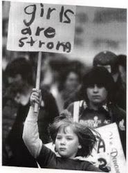 Girls are strong!