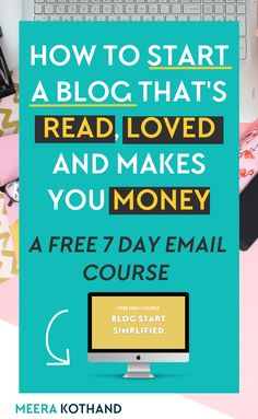 Stop Being Your Own Worst Enemy. You can work like a digital slave to start and grow your blog but all those hours don't matter if you don't have a plan for success or clear roadmap to follow. This free course for beginner's gives you tips and ideas to start a blog for profit so that you don't look back a year later and wonder what went wrong.