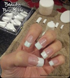 DIY Acrylic French Manicure: DIY Nails Art