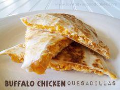 Buffalo Chicken Quesadillas by lovebakesgoodcakes, via Flickr