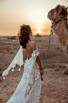 Meet Me in Morocco: *EXCLUSIVE* First Look at Rue de Seine's 'Wild Heart' Collection Rue de Seine Wild Heart Collection. Boho Wedding Dress with Fringe, Lace and Crochet for the Modern, Free-Spirited Bride. Wedding Dress in Morocco. Bohemian Bride, Bohemian Wedding Dresses, Bridal Dresses, Dresses Dresses, Gypsy Wedding Gowns, Fringe Wedding Dress, Hippie Bride, Boho Gown, Dresses Online