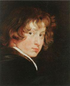 Anthony van Dyck, c. 1615 - - - Self-portrait
