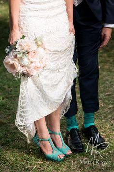 Vintage, mint green heels to match his socks. Mint Green Heels, Timeless Elegance, Lace Skirt, Socks, Elegant, Sneakers, Skirts, Wedding, Vintage