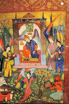 Persian miniature Smithsonian Sackler Art Gallery