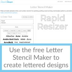 Free Letter Stencils, Number Stencils, How To Make Stencils, Calligraphy Handwriting, Stained Glass Patterns, Alphabet, Easter, Inspirational, Lettering