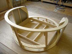 Muse Cuddler Chair Frame #GuitarChair