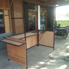 Food Stall Design, Food Cart Design, Food Truck Design, Stand Design, Booth Design, Snack House, Mini Cafe, Food Kiosk, Kiosk Design