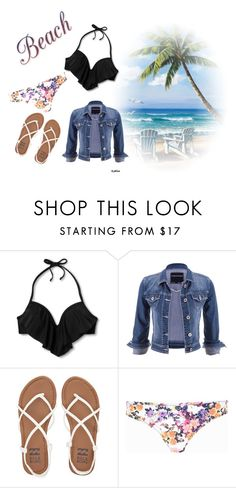 """Floral Fun in the Sun"" by immafluffypanda on Polyvore featuring Xhilaration, maurices, Billabong and River Island"