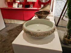 for the #princess in your life who loves a lot of #bling, the perfect #basin... | Linkasink #icff2014