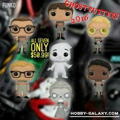 Pre-Order at Hobby-Galaxy.com!  #ghostbusters #ghostbuster #ghostbusters2 #ghostbusters3 #ghostbusters2016 #abbyyates #eringilbert #jillianholtzmann #pattytolan #gertrudeeldridge #gertrude #rowansghost  #funko #funkovinyl #funkopop #funkofunatic #funkopops