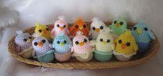 Donnas Designs: Easter chicks free pattern