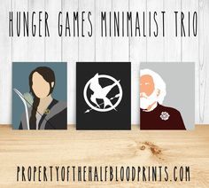 HUNGER GAMES Minimalist Trio: Volume 1