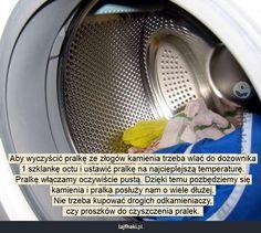 Jak usunąć kamień z pralki? - Aby wyczyścić pralkę ze złogów kamienia trzeba…